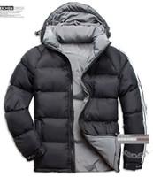 Wholesale Collar Stand Design - Have LOGO!! new Fashion Hot sale Newest Design Men Down Jacket Men's Winter Overcoat Outdoor Coats Clothes jaqueta
