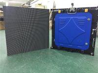 pantallas de video al aire libre al por mayor-P6 exterior a todo color, SMD 1/8 scan, 576X576mm gabinete de fundición a presión de aluminio, pantalla de video led a todo color, pantalla de video led