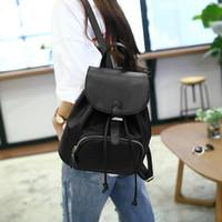 Wholesale Ladies Luggage Bags - Leather Backpack New PU Bag Women Handbags Travel Mini Backpacks Spring And Summer Ladies School Bag Luggage High Quality