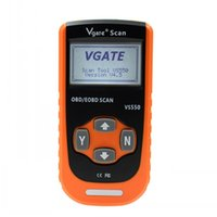 Wholesale Odb Ii Scanner - Hot Selling Vgate VS550 Automotive CAN ODB II 2 OBD2 OBDII Diagnose Code Reader Scanner Scan Tools