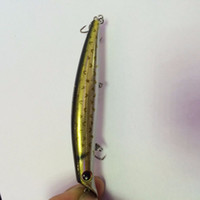 Wholesale Minnows 12cm - Fishing Long Range Minnow Pencil Lures Artificial Lure Bait 12cm 16g Float Suspend Slow Sinking VMC Hooks IMA Sasuke 120
