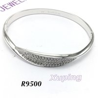 Wholesale Dragon Phoenix Rings - Wholesale Plate with Silver Bangle Dragon & Phoenix Charm Cuff Bracelet Bangles Chain For Women Party Birthday Fashion Jewelry