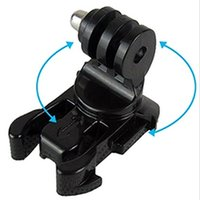 Wholesale Go pro accessories Degree Rotate J Hook Buckle Base Vertical Surface Mount Adapter for GoPro Hero sj4000 isa