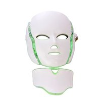 PDT Photon Therapy LED Facial Mask Skin Rejuvenation Skin Care Beauty Machine Face & Neck Use with Stand for Salon Use