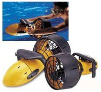 Wholesale Diving Scooter - Free DHL Shipping! Hot selling water sports submersible 300w Sea Scooter Underwater propeller,High Grade Diving Equiment(With Battery)