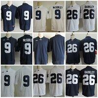 f462f1348 Mens Penn State Nittany Lions Saquon Barkley Big ten College Football  Jerseys stitched  9 Trace McSorley Penn State Nittany Lions Jersey S-3 ...