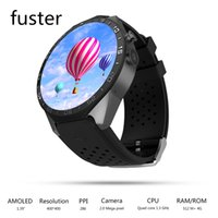 Atacado- Genuine KW88 Android 5.1 OS Smart Watch com GPS e 2M Camera Support 3G WCDMA Wifi Connect e Sim Card