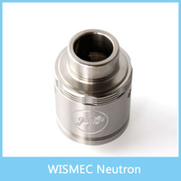 100% Original WISMEC Neutron RDA Réservoir atomiseur 0.5ohm Neutron RDA atomiseur avec Flow Technology Unique Vortex Precise Top Control Airflow