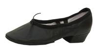 zapatos de salón tacón bajo al por mayor-Ballet de cuero de mujer de tacón bajo Zapatos de danza del vientre de ballet Práctica de suela blanda Bailarina Bailarín de baile