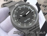 Wholesale Automatic Sports Cars - Super Clone 5 Colors Performance P'6780 P6780 Diver Titanium steel Case Gray Dial Automatic Mens Watch Sports Car Watches Gray Rubber PD06f