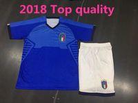 Wholesale Italian Cup - 2018 Italian Soccer Jersey Set World Cup National Team Home CANDREVA CHIELLINI Home EL SHAARAWY BONUCCI INSIGNE BERNARDESCHI