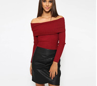 Wholesale Cheapest Sweater Dresses - European 2016 New Pattern Pit Bar Sweater Word Lead Rendering Knitting Unlined Upper Garment Long Pleated Skirt Sleeve Clothin Cheap Dresses