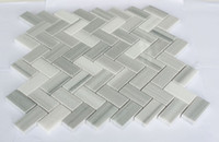 Wholesale Building Wall Tile - Direct Selling New Classic Herringbone Real Marble Mosaic Tiles, Nature Building Material for Wall, Flooring,Residential Decoration 5pcs lot