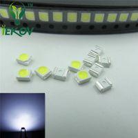 led diyot beyaz smd toptan satış-1000 adet / torba 1210 3528 Beyaz LED 3.0-3.2 V SMD vurgulamak ışık yayan diyotlar Yüksek kaliteli PLCC-2 SMD / SMT Çip lambası boncuk