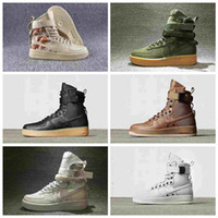 Wholesale hot shoe arm - 008 Hot Sale Special Field Air 1 One Men Women High Boots Running Shoes Sneakers Unveils Utility Boots Armed Classic Shoe 36-45