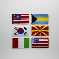Wholesale Country Bags - patch, flag patch, world cup country flag, use in cap, cloth, bag and anywhere you want