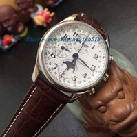 Wholesale Master Collection - Luxury Watches New Master Collection Moonphase 7750 Movement Men's Watch L2.673.4.51.6 Automatic Men's Watch