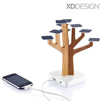 Wholesale Solar Mp3 Player - Wholesale 100% Original XDDesign Solar Suntree home decoration with charger for MP3 MP4 player, cell phone, Solar Suntree Power bank charger