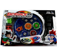 Wholesale Mini Toy Top - Beyblade Arena Spinning Top Metal Fight Beyblad Toupie Beyblade Set Metal Fusion Children Gifts Classic Toys Pegasus