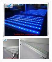 6pieces / lot outdoor wall washer led outdoor wall 18x3w rgb colorir mistura dmx parede arruela