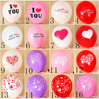 Wholesale Wholesale Cake Topper Letters - Free Shipping Wholesale Wedding Supplies Balloons Aluminum Coating Festival Birthday Party Anniversary Supplies Irregular Letters Balloon