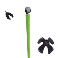 Wholesale Putter Wholesale - 4-Prong Golf Ball Retriever Grabber Pick Up Back Saver Claw Put On Putter Grip