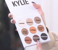Wholesale Wholesale Powder Usa - 2016 new KYLIE Kyshadow Pressed Powder Eyeshadow Cosmetics Bronze Palette 9 colors popular in usa