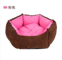 Wholesale Teddy VIP hexagonal dog kennel The cat litter pet products can unpick and wash The four seasons pet Waterloo pad
