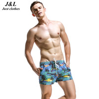 Men orange surfboards - SEOBEAN Brand Men Beach Shorts New Summer Surf Short Pants Sexy Flower Palm Surfboard Printed Styles Swimsuit Sportwear