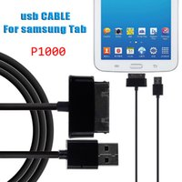 Wholesale Hdmi For Galaxy Tab - DHL Free Shipping 1m P1000 Cable Tablet USB Data & Charging Cable For Samsung Galaxy Tab