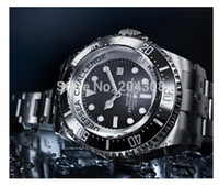 Wholesale Sea Dweller 52mm - LUXURY Brand New Factory sales luxury 52MM Challenge Ceramic Sea Dweller Sea-dweller 116660 Automatic Men's Watch Black Stainless steel Mens
