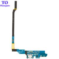 Wholesale galaxy s4 i545 - 10pcs lot Charging Port Dock Connector USB Ribbon Cable Flex for Samsung Galaxy S4 i9505 i9500 i337 M919 i545 Charging Flex