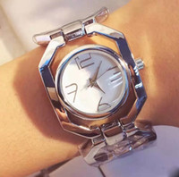 Wholesale Birthday Gift Watches For Women - New AAA Luxury Watch Dress Lady Women watches Hollow Bracelet Steel Band Quartz Wristwatches For Women Girl Birthday Gift free shipping