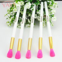 Wholesale Eyeshadow Brush Goat Hair - 2018 Hot Sale Brand Makeup Brushes Goat Hair Lady Cosmetic Blending Eyeshadow Brush Stylish Eyeshadow Concealer Pro Women Gift