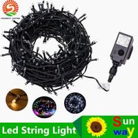 Wholesale Electronic Warming - DC24V LED strings Christmas lights 30M 200LEDs 50M 250LEDs 100M 500LEDs LED Fairy Lights with Electronic transformer