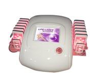 Wholesale lipo light laser - lipo laser light lose weight beauty equipment 14 paddle