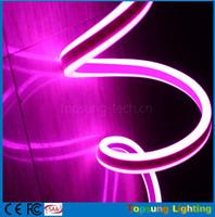 néon lumières latérales achat en gros de-50m bobine incroyable double face émettant led néon tube lumières flexible bande étanche pour les chambres pour les signes 220 v 230 v 240 v multi couleurs