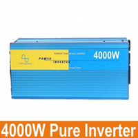 Wholesale Pure Power Systems - Digital Display 4000W Full Power household high frequency power inverter true pure sine wave power inverter solar power system