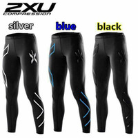 Wholesale Tight Ladies Trousers - Wholesale-Woman's Compression Tights Pants Ladies Gym Trousers Miss sweatpants Skiing Running Stadium Sports Wearing Quick drying