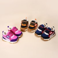 Wholesale First Athletic Shoes - winter 12-18 months baby boy walking shoes suede fur first walkers kids girls basketball running shoes newborn athletic soccer tennis shoes