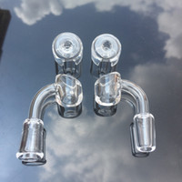 Wholesale product manufacturers - 4mm Thick all clear Club Banger Quartz Nail with Quartz Carb Cap Professional Manufacturer Quartz Nail Products For Glass Bongs Oil Rigs