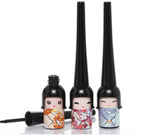 Wholesale Dry Stain - Lucky Doll YANQINA Eyeliner Waterproof Do Not Faint Stained 5ML Hard Head 3 Color Cheap Cute Makeup