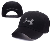 Wholesale Camo Boy Snapback - UA under Baseball Cap UA Snapback Caps Unisex Sports armour camo baseball hat Casual boy Hip-hop Hats For Men Women adjustable hot