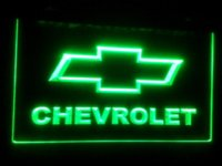 Wholesale Light Bars China - TR-11 CHEVROLET ADV, LED Neon Light Sign Cheap sign language High Quality signs glass China sign glow Suppliers