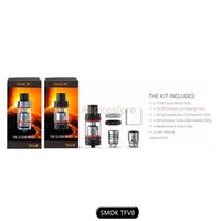 100% Original Smok TFV8 Atomizer Smoktech 6.0ml TFV8 Облачный зверь с V8-T8 V8-Q4 Катушка VS Aspire Nautilus X