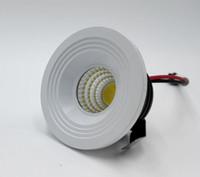 precio ligero llevado 5w al por mayor-Precio al por mayor 5W Regulable Mini LED de techo abajo Luz blanca de punto redondo Vivir kicthen lámparas AC85-265V