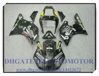 ЦВЕТ ЧЕРНЫЙ ВПРЫСКА BRAND NEW обтекателя KIT 100% FIT FOR YAMAHA YZF R1 YZF1000 1998-1999 YZFR1 1998 1999 YZF R1 98 99 # HS722