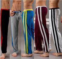 Wholesale Yoga Pants Men Loose - Fashion Breathability, quick-drying mens pants 5 colors Yoga pants loose comfortable sweatpants for sports 2005CK