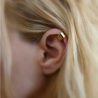 Wholesale Screw Piercing - Wholesale-European and American trade fashion personality simple non-pierced ear cuff ear clip