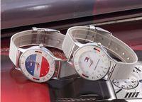 Wholesale Women Watch Bracelet Fashion - Hot Sale Brand Luxury Women Watches Ladies Casual Quartz Watch Female Clock Silver Steel Mesh Bracelet Dress Watch relogio feminino
